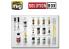 MIG Solution Box 7720 Imperial Galactic Fighters Couleurs et vieillissement - Livre