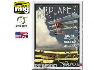 Euromodelismo livre EURO0027 Airplanes in Scale 3 Première Guerre Mondiale en langue Anglaise