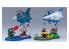 Hasegawa maquette avion 60518 Egg Of the World Egg World Monstre de feu du monde des oeufs (F-2) et sorcière de minuit (T-4)
