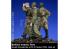 Rado miniatures figurines RDM35025 Derrière les lignes ennemies - Soviet Razvedchik w/W-SS Tanker POW 1941-45 1/35