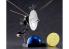 HASEGAWA maquette espace 52206 sondes spatiales Voyager avec plaque d'enregistrement dorée 1/48