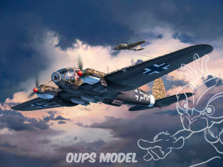 Revell maquette avion 03863 Heinkel He111 H-6 1/48