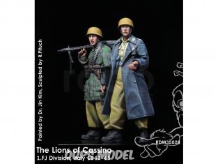 Rado miniatures figurines RDM35028 Les lions de Cassino - 1.FJ Division Italie 1943-45 1/35