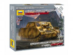 Zvezda maquette militaire 6244 STURMPANZER IV 1/100