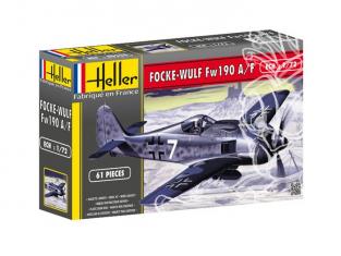 Heller maquette avion 80235 FOCKE WULF Fw 190 A8/F3 1/72