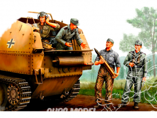 Hobby Boss maquette figurines 84402 Equipage Soldats allemands SPG 1/35