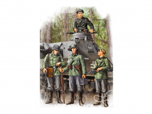 Hobby Boss maquette figurines 84413 Groupe de soldats allemands Vol1 1/35