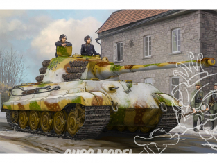 Hobby Boss maquette militaire 84532 Pz.Kpfw.VI Sd.Kfz.182 Tiger II Fevrier 1945 1/35