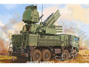 TRUMPETER maquette militaire 01061 Véhicule de combat russe 72V6E4 de 96K6 Pantsir-S1 ADMGS avec radar 1/35