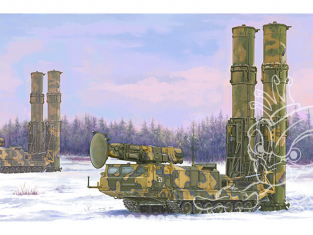 TRUMPETER maquette militaire 09518 Russian S-300V 9A82 SAM 1/35