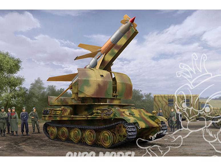 TRUMPETER maquette militaire 09532 Flakpanther avec 8.8cm Flakrakete Rheintochter I 1/35