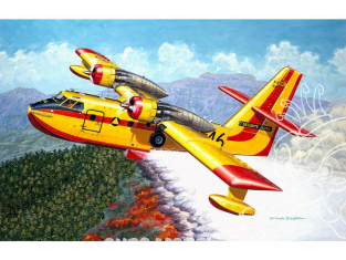 Heller maquette avion 80373 Canadair CL-215 1/72