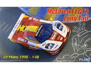 Fujimi maquette voiture 126623 McLaren F1 GTR Long Tail - Le Mans 1998 40 1/24