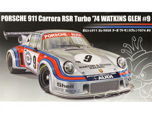 Fujimi maquette voiture 126494 Porsche 911 Carrera RSR Turbo 1974 Watkin Glen 9 1/24