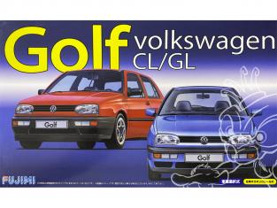Fujimi maquette voiture 126395 Volkswagen Golf II CL/GL 1/24