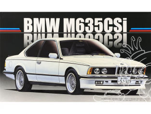 Fujimi maquette voiture 126500 Bmw M635CSI 1/24