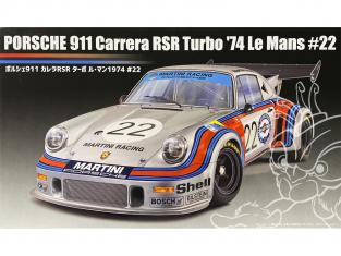 Fujimi maquette voiture 126487 Porsche 911 Carrera RSR Turbo 1974 Le Mans 22 1/24
