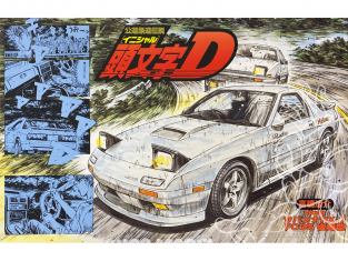 Fujimi maquette voiture 18325 Mazda RX-7 FC3S Initial D 1/24