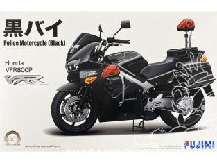 Fujimi maquette moto 141374 HONDA VFR800P Police black 1/12
