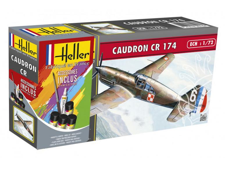 Heller maquette avion 56218 CAUDRON CR 174 kit complet 1/72