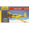 Heller maquette avion 80287 SAAB SAFIR 91 1/72