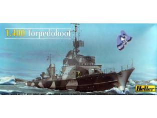 Heller maquette bateau 81011 Torpedoboot 1/400