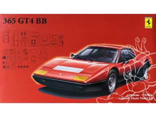 Fujimi maquette voiture 126517 Ferrari 365 GT4 BB 1/24