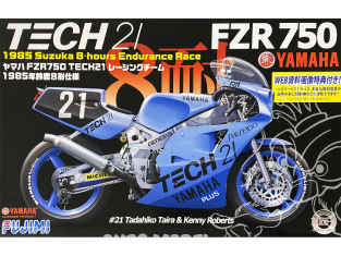 Fujimi maquette moto 141312 Yamaha FZR 750 Tech 21 1985 Suzuka 21 1/12