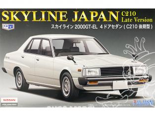 Fujimi maquette voiture 038766 Nissan Skyline Japan C210 Late version 2000GT-EL 4 portes 1/24