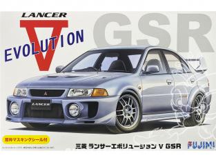 Fujimi maquette voiture 039190 Mitsubishi Lancer Evolution V GSR 1/24