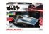 Revell maquette Star Wars 06773 Resistance A-wing Fighter, blue 1/44