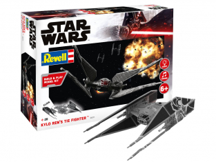 Revell maquette Star Wars 06771 Kylo Ren's TIE Fighter 1/70