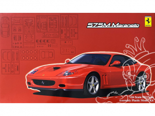 Fujimi maquette voiture 126531 Ferrari 575M Maranello 1/24