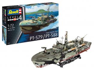 Revell bateau 05165 Patrol Torpedo Boat PT-588/PT-57 1/72