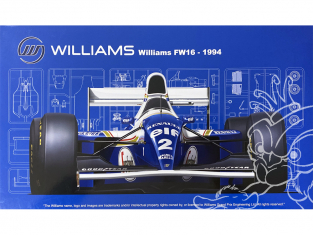 Fujimi maquette voiture 092126 Williams FW16 1994 1/20