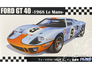 Fujimi maquette voiture 126050 Ford GT40 - Le Mans 1968 1/24