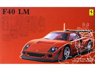 Fujimi maquette voiture 126456 Ferrari F40 LM 1/24