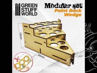 Green Stuff 503470 Présentoir Modulaire pour Peinture - RAYON