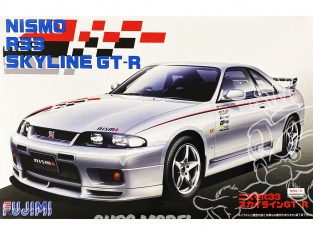 Fujimi maquette voiture 038353 Nissan Skyline GT-R Nismo R33 1/24