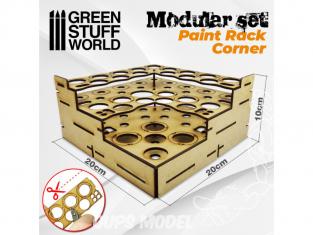 Green Stuff 503463 Présentoir Modulaire pour Peinture - COIN