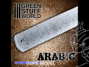 Green Stuff 505252 Rouleaux texturés ARABIQUE