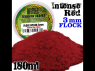 Green Stuff 505382 Herbe Statique 3 mm Rouge Intense 180ml