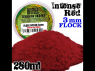 Green Stuff 505399 Herbe Statique 3 mm Rouge Intense 280ml