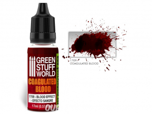 Green Stuff 500684 Coagulated Blood Sang Coagulé