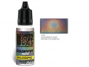 Green Stuff 500325 Peinture Holographique métal