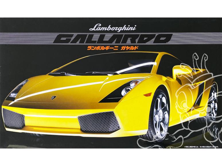 fujimi maquette voiture 12213 Lamborghini gallardo 1/24