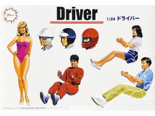 Fujimi maquette voiture 114910 Figurines conducteurs 1/24