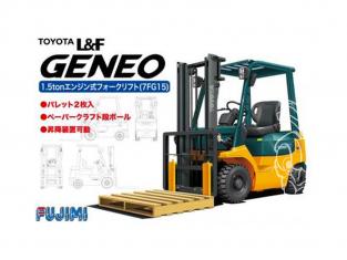 Fujimi maquette accessoire 011684 Chariot élévateur Toyota L1F Geneo 1/32