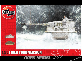 Airfix maquette militaire A1359 Tigre I Mid Version 1/35