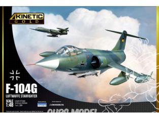 Kinetic maquette avion K48083 F-104G Luftwaffe Starfighter 1/48